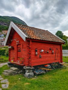 Aurland Norway Shed