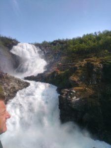 Flam Railway Waterfall