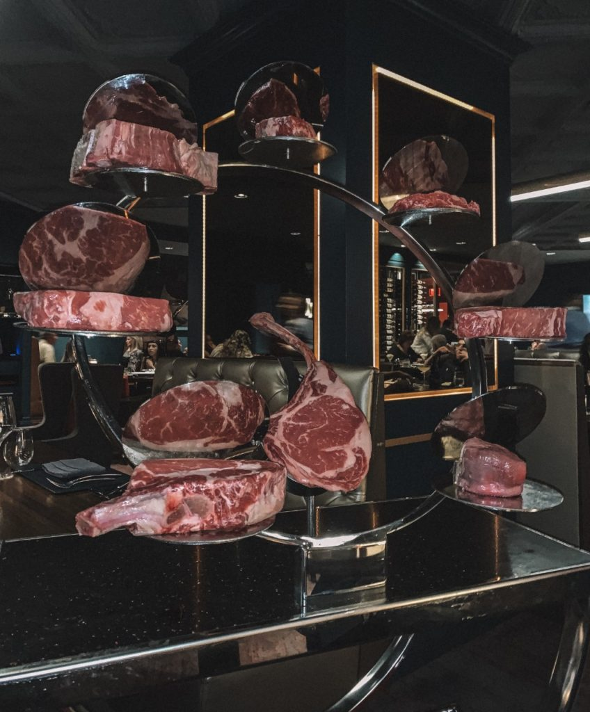 gordon ramsay steak display