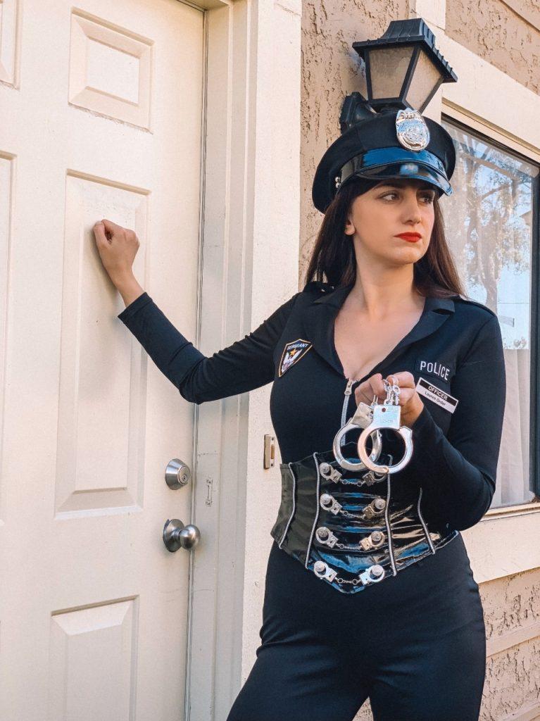 yandy officer lauren order costume